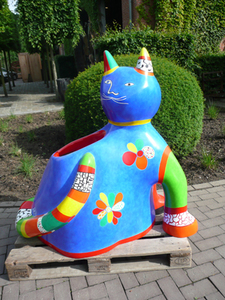 Chat by De Saint-phalle Niki