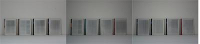 Dead Letters  -Verticaal versneden veilingcatalogi Sotheby's & Christie's, 2001, VA.20.6.2001  by Denmark