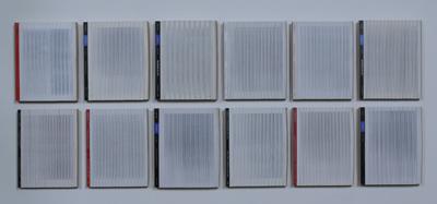 Dead Letters - Verticaal versneden veilingcatalogi Sotheby's & Christie's VA 10.7.2001 by Denmark