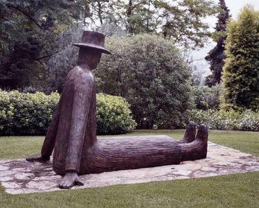 L'Homme assis by Folon Jean-michel