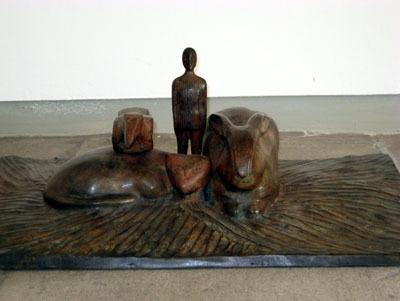 Ensemble  by Folon Jean-Michel