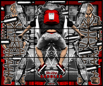 Saddled by Gilbert & George