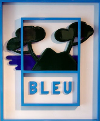 Bleu (8+4)  by Gilli Claude