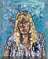 Untitled (Portrait of May) by Schnabel Julian