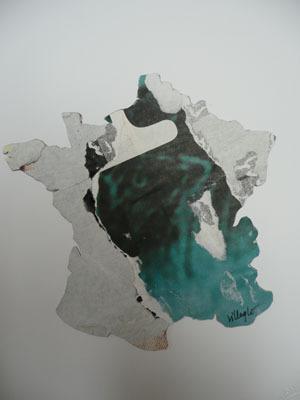 Untitled by Villeglé Jacques