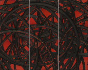 Untitled (Red 9) by Young Aaron