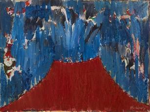 Volcan à l'état brut by Alechinsky Pierre