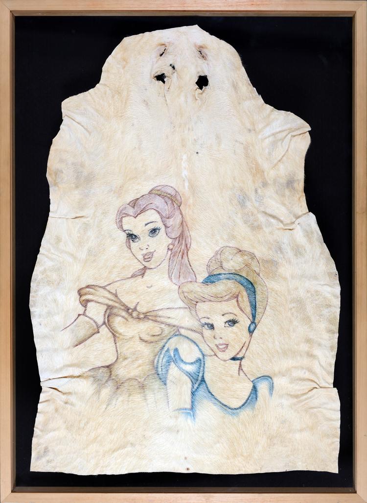 Belle & Cinderella by Delvoye Wim