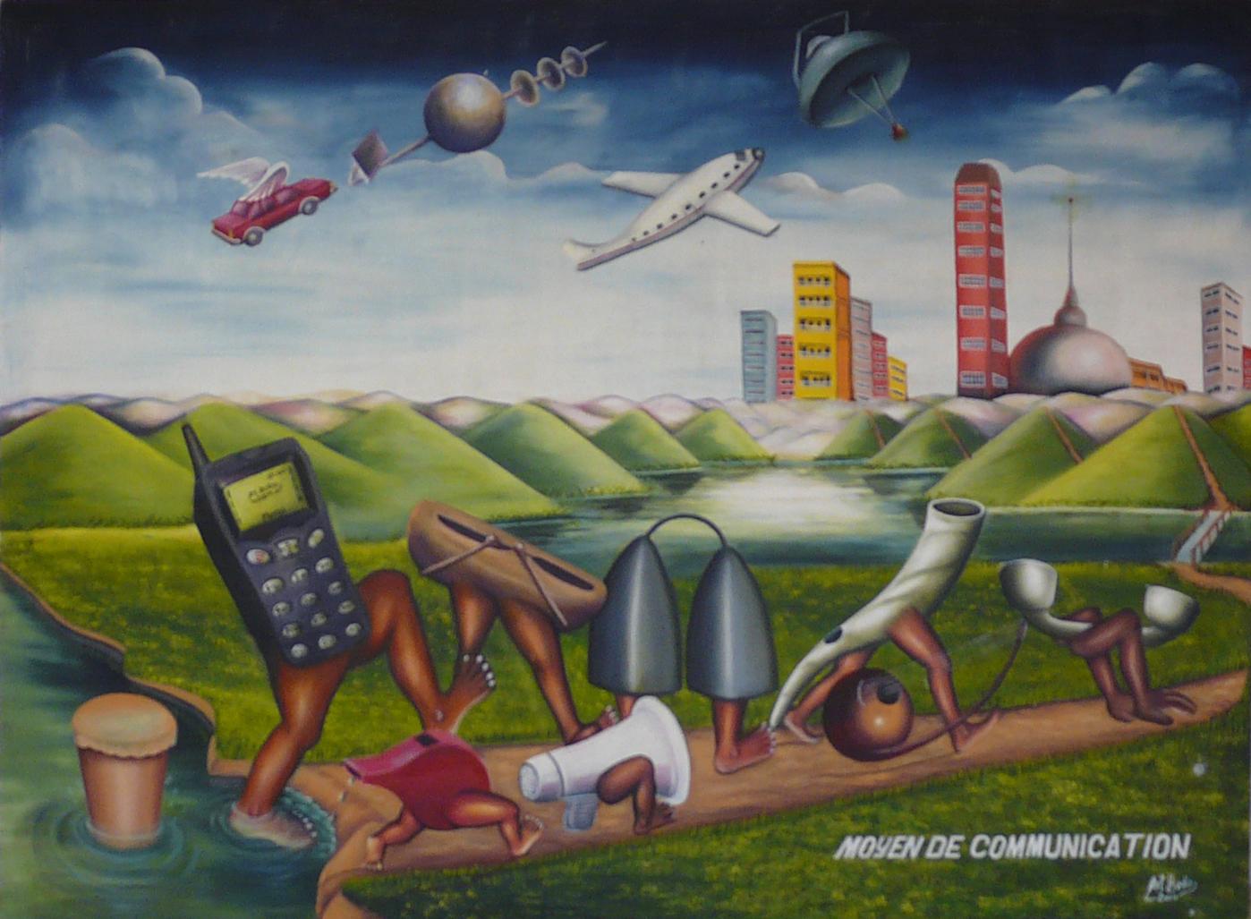 Moyen de communication by Bodo Art